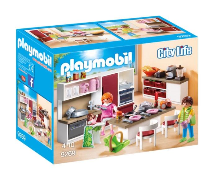 Playmobil 9269 City Life Große Familienküche