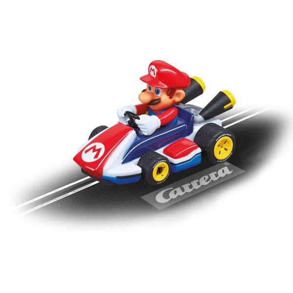 Carrera First Electric Slot Car Nintendo Mario Kart Mario