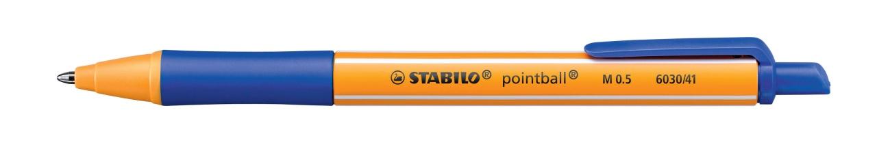 Stabilo Kugelschreiber M 0.5 blau