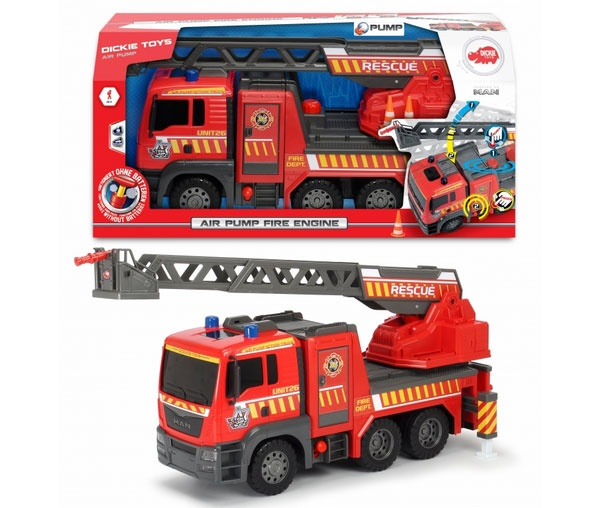 Air Pump Fire Engine Feuerwehr 54 cm