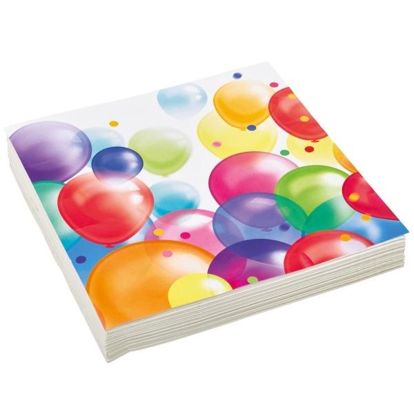 Servietten Ballons