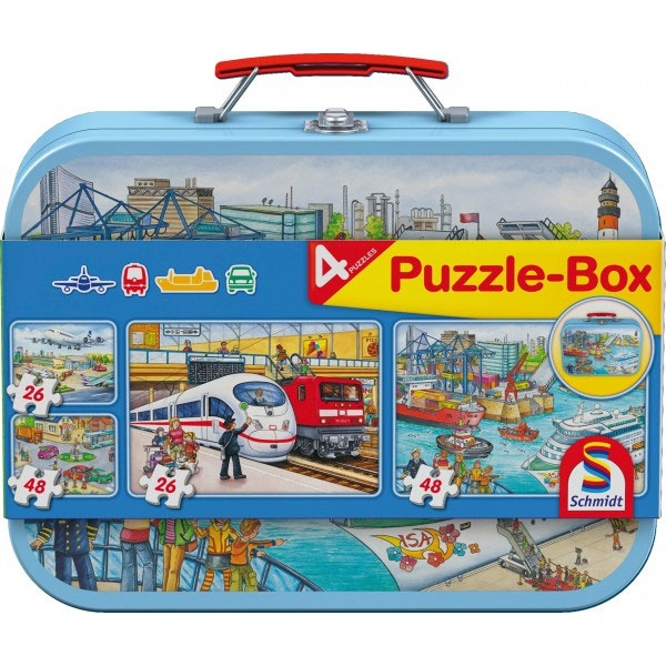 Puzzle Puzzle-Box Verkehrsmittel