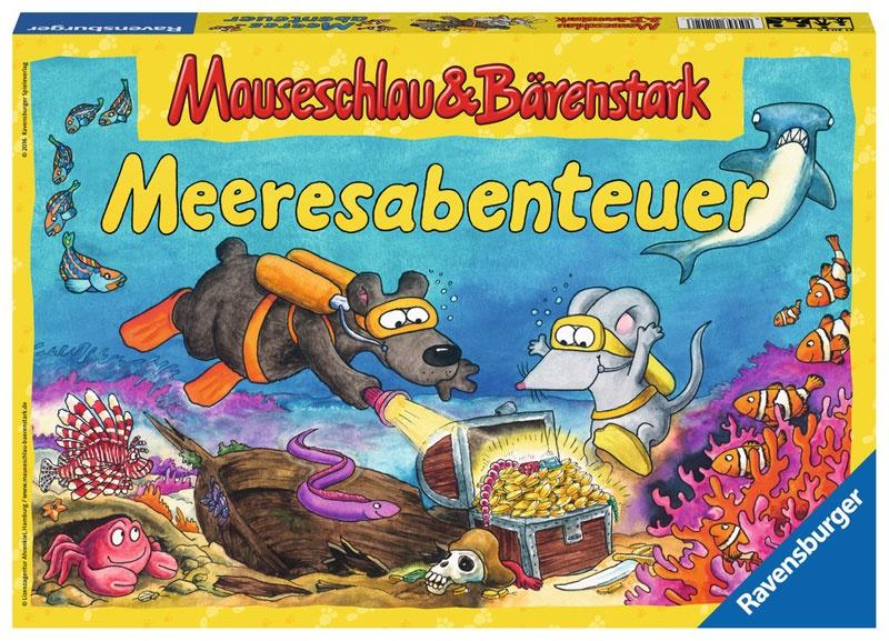 Ravensburger Meeresabenteuer Mauseschlau & Bärenstark