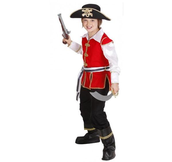 Kostüm Piraten Kapitän Piratenkostüm Gr. 158