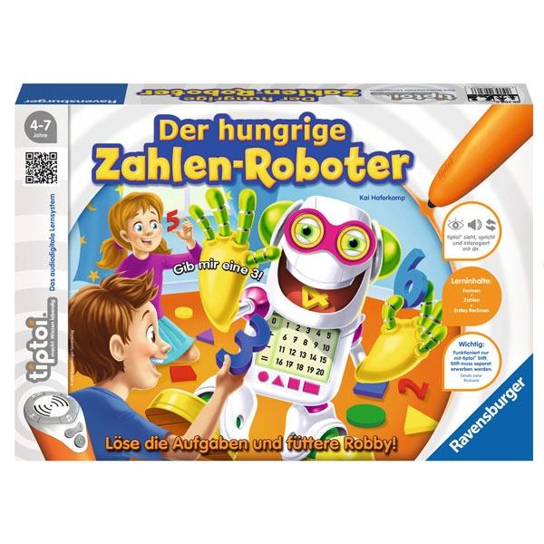 tiptoi® Der hungrige Zahlen-Roboter