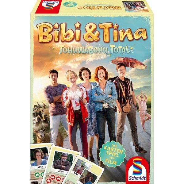Bibi & Tina Tohuwabohu Total Kartenspiel von Schmidt Spiele