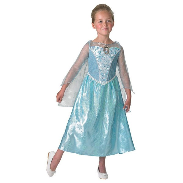 Kostüm Frozen Elsa Musical Light up S 3-4 Jahre