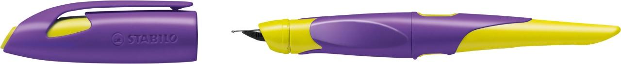 Stabilo Füllhalter Easybirdy R violett/gelb