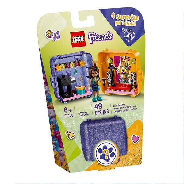 Lego Friends 41400 Andreas magischer Würfel - Sängerin