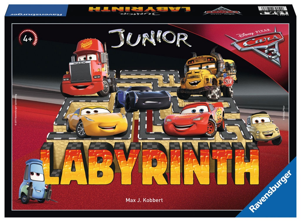 Labyrinth Cars 3 Junior