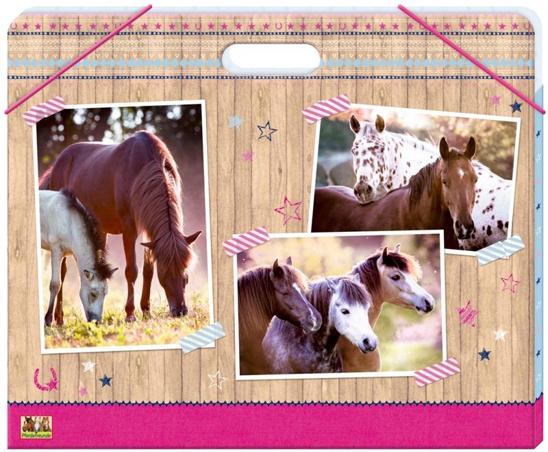 Spiegelburg Pferdefreunde Sammelmappe A3 mit Griff