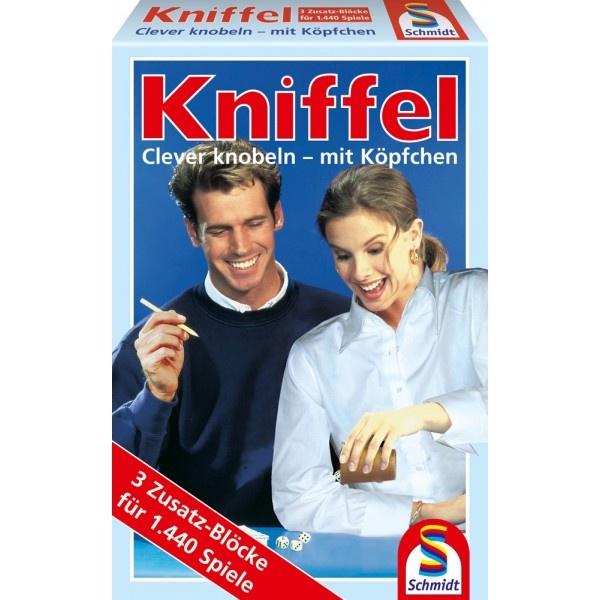 Kniffel 3 Zusatzblöcke von Schmidt Spiele
