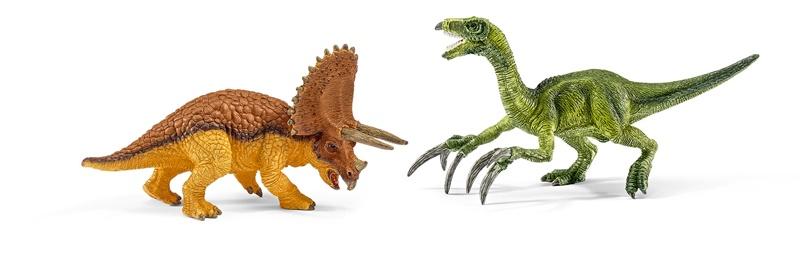 Schleich Triceratops und Therizinosaurus 42217