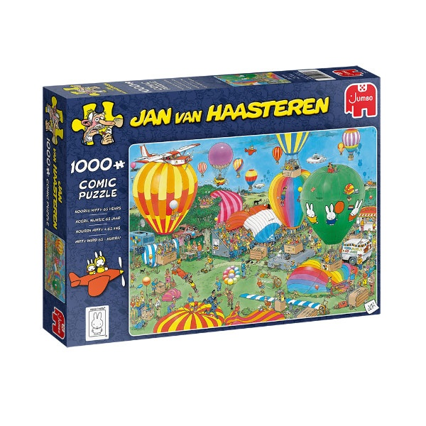 Jumbo Puzzle Jan van Haasteren Hooray Miffy 65 Years Comic