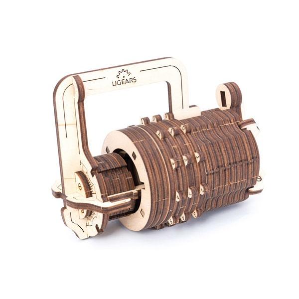 Holzbaukasten Ugears Combination Lock