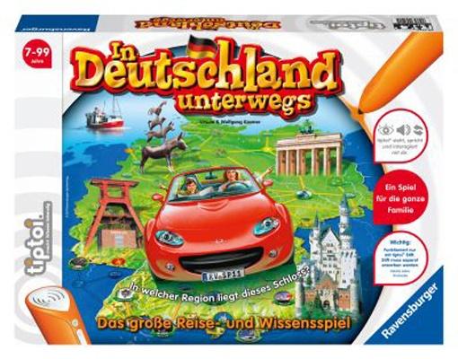 Tiptoi Lernspiel In Deutschland unterwegs