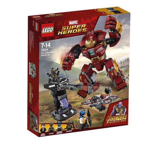 Lego Super Heroes 76104 Der Hulkbuster