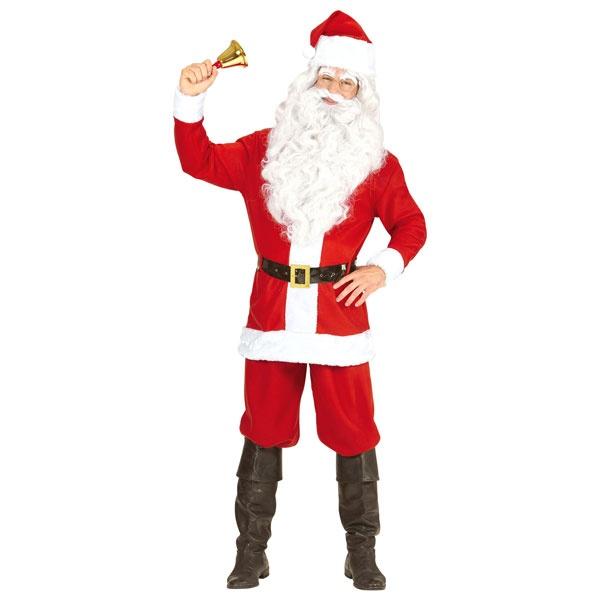 Kostüm Weihnachtsmann M-L 50-52