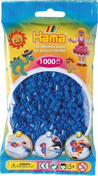 Hama Bügelperlen 1000 Stück hellblau