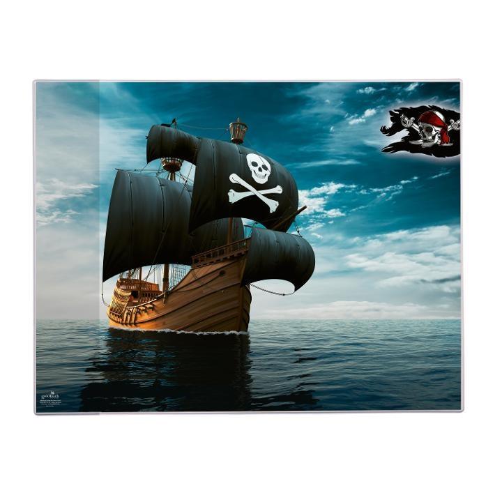 Goldbuch Schreibunterlage Piraten