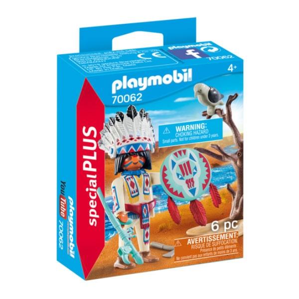 Playmobil 70062 Spezial Plus Indianerhäuptling