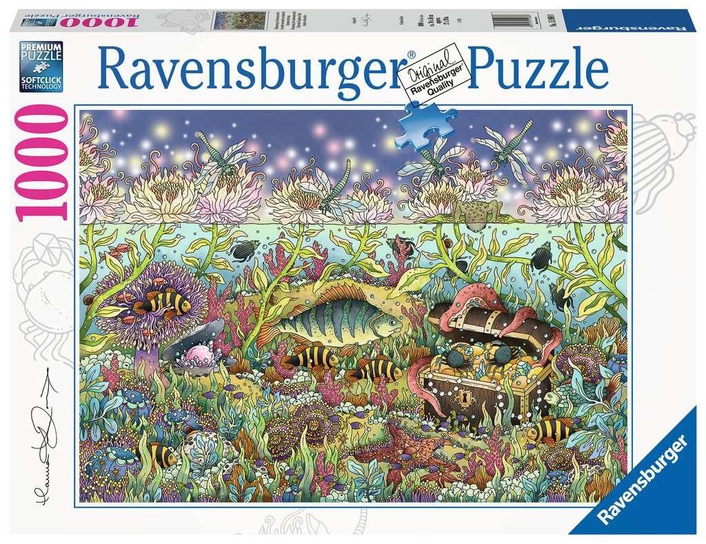 Ravensburger Puzzle Dämmerung im Unterwasserreich 1000 Teile