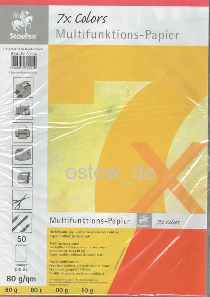 Multifunktionspapier 80g Kopierpapier orange