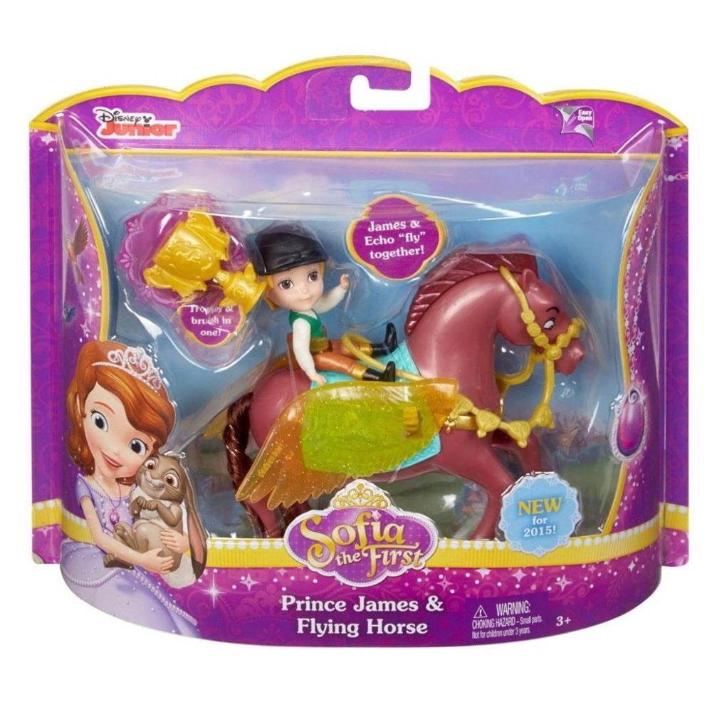 Sofia die erste Prinz James und fliegendes Pferd Echo