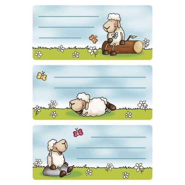 Herma Buch-Etiketten Schafe