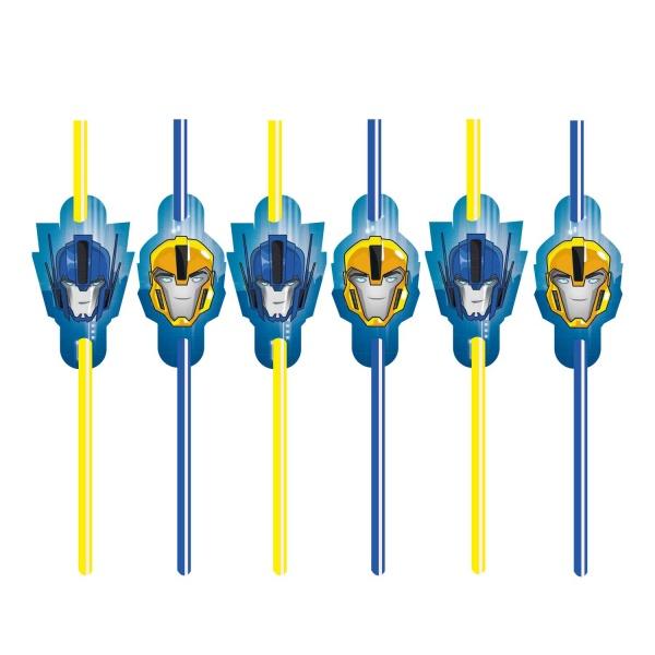 Transformers Party Trinkhalme