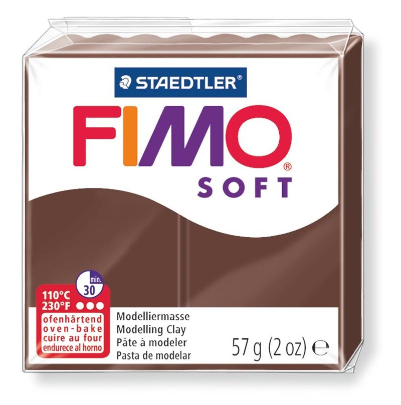 Staedtler Modelliermasse Fimo soft schoko 57 g