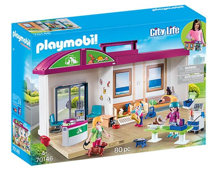 Playmobil 70146 City Life Mitnehm-Tierklinik