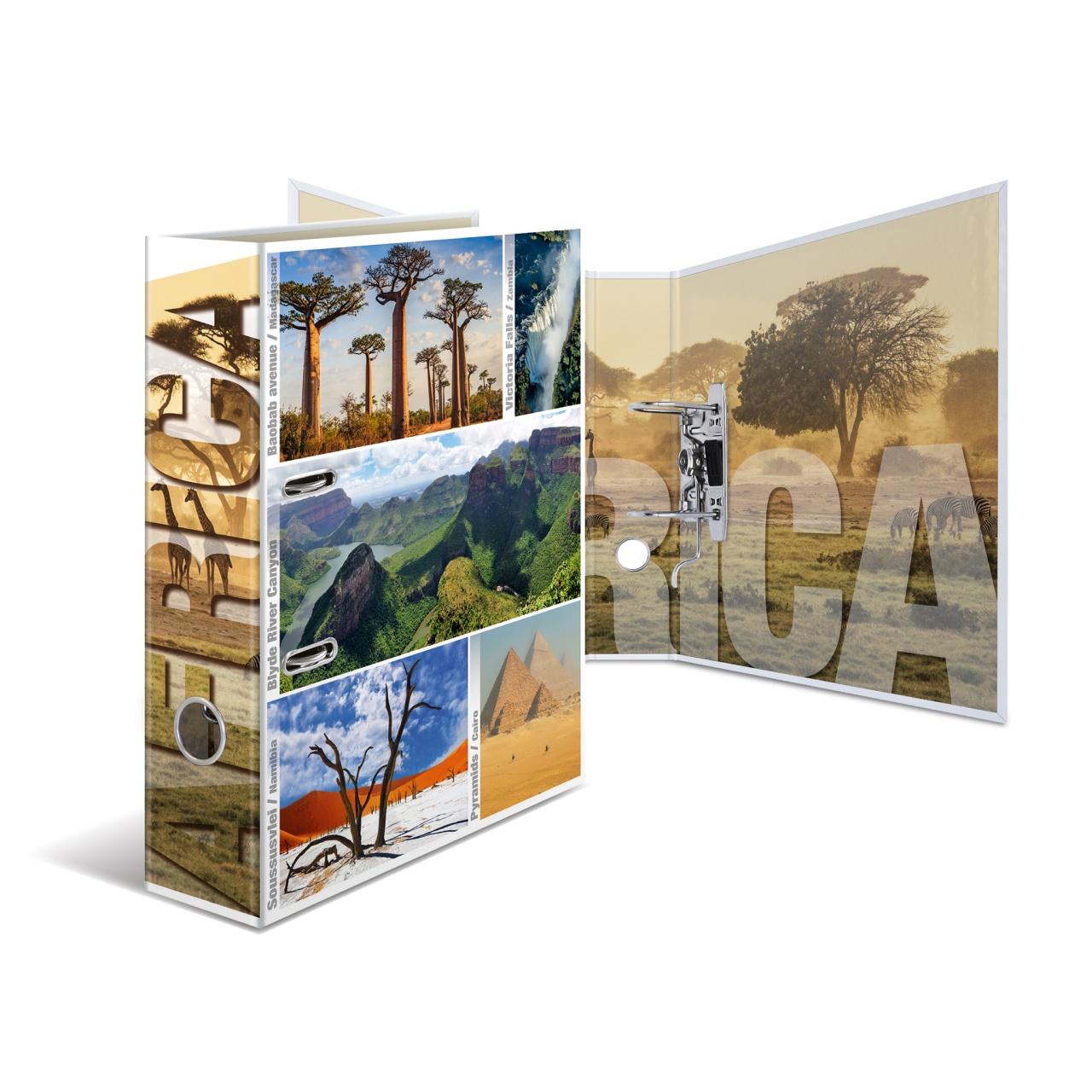 Herma Motivordner A4 Globetrotter Afrika