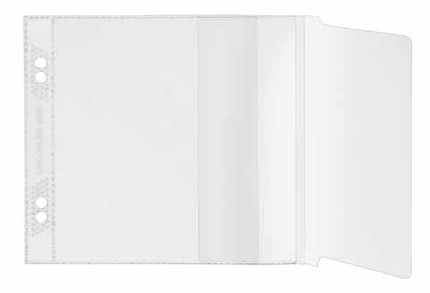 Veloflex CD-Romhüllen zum Abheften 10 Stück