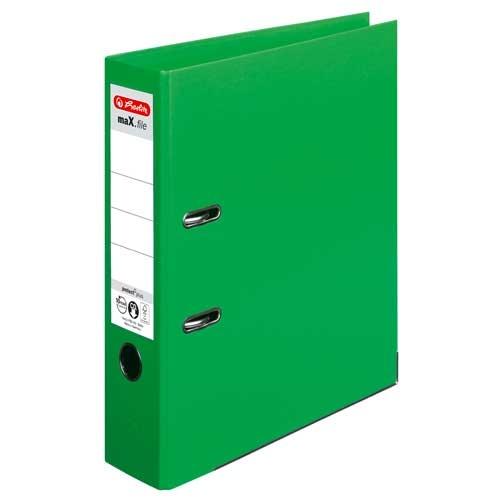 Ordner A4 max.file protect hellgrün 8 cm von Herlitz