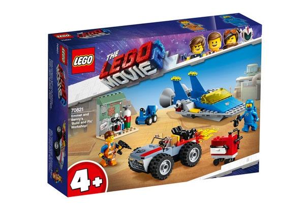 Lego Movie 2 70821 Emmets u Bennys Bau- u Reparaturwerkstatt