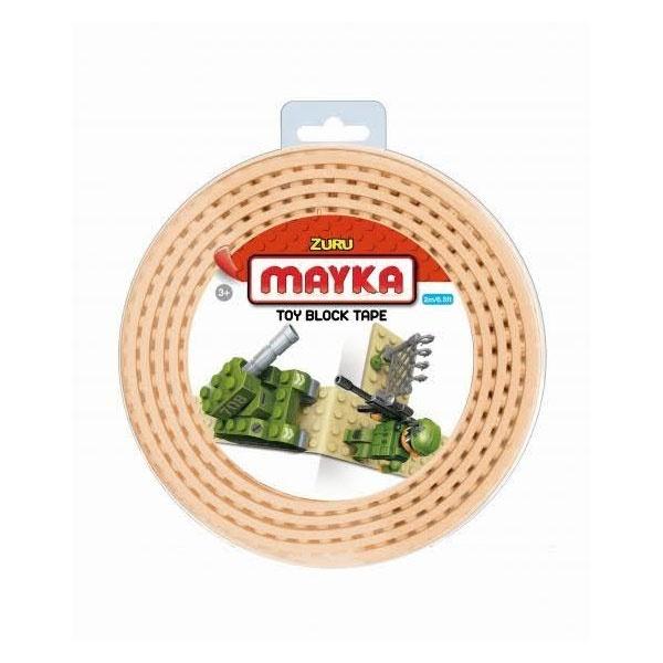 Mayka Tape medium 2m 2-reihig beige