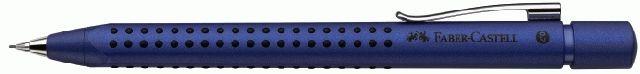 Faber Castell Druckbleistift Grip blau metallic 0,7 mm