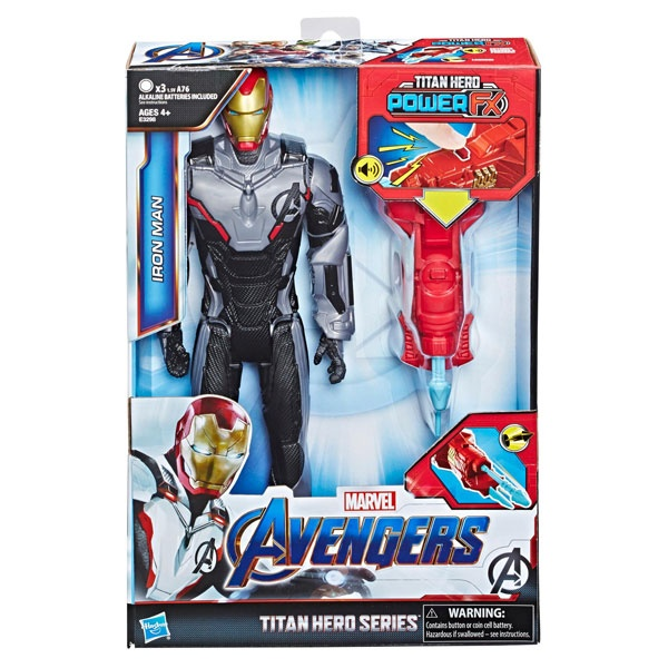 Marvel Avengers Titan Hero Power FX 2.0 Iron Man von Hasbro