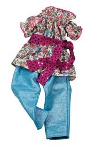Götz Puppenkleidung Puppen-Hippi-Set
