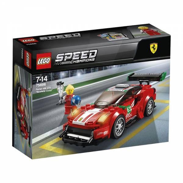 Lego Speed Champions 75886 Ferrari 488 GT Scuderia Corsa