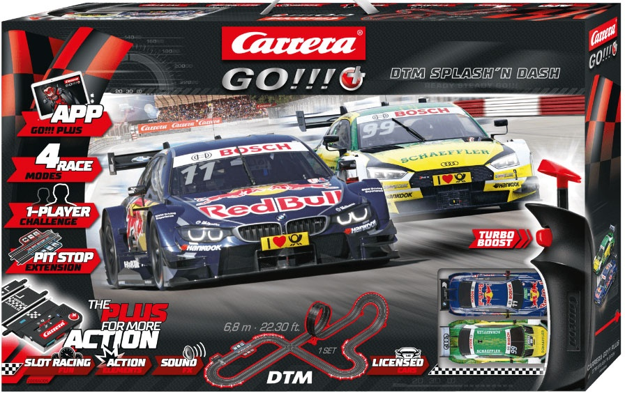 Carrera GO!!! Plus Autorennbahn DTM Splash´n dash 66005