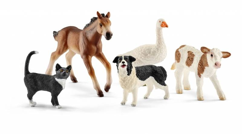 Schleich Farm World Tiermix 42386