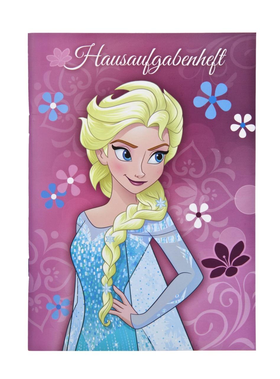 Disney Die Eiskönigin Frozen Hausaufgabenheft