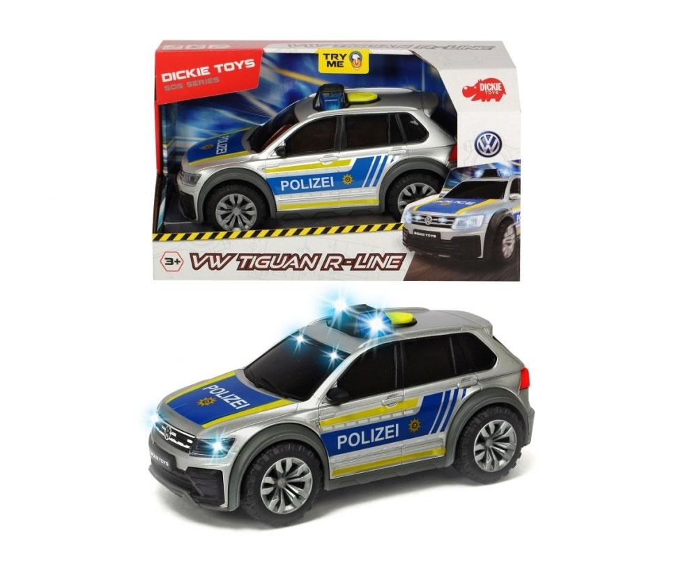 VW Tiguan R-Line Polizei Auto