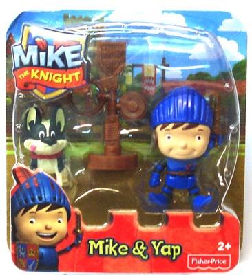 Mattel Fisher Price Mike der Ritter - Mike und Bia