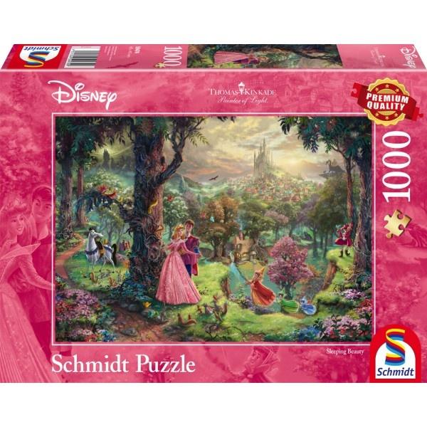 Puzzle Thomas Kinkade Disney Dornröschen