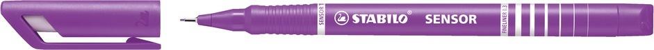 Stabilo Fineliner Sensor lila