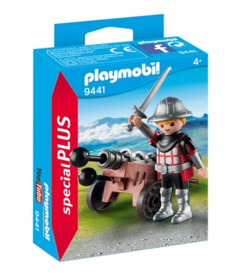 Playmobil 9441 specialPlus Ritter mit Kanone