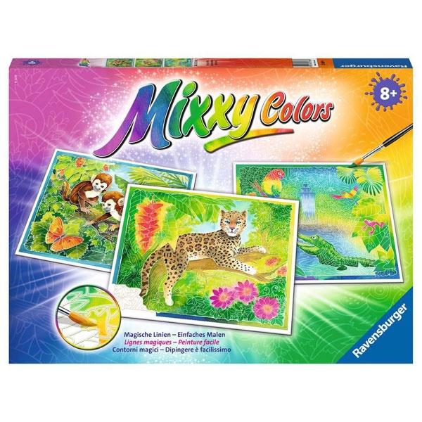 Mixxy Colors Exotische Tiere von Ravensburger
